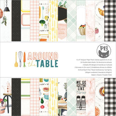 P13 Double-Sided Paper Pad 6in x 6in  24 pack - Around The Table