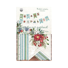 P13 The Four Seasons-Winter Double-Sided Cardstock Die-Cuts - Banner