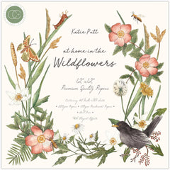 Craft Consortium Double-Sided Paper Pad 12in x 12in  40 pack - At Home In The Wildflowers