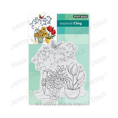 Penny Black Cling Stamps - Alluring Arrangement
