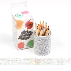 Poppy Crafts - Colouring Washitape Kit - Floral