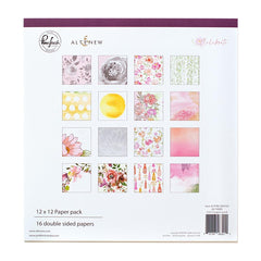 Pinkfresh Studio Double-Sided Paper Pack 12in x 12in  16 pack - Celebrate, 8 Designs/2 Each