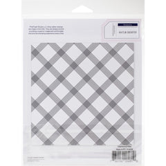 Pinkfresh Studio Cling Rubber Stamp Set 6in x 6in - Diamond Tiles