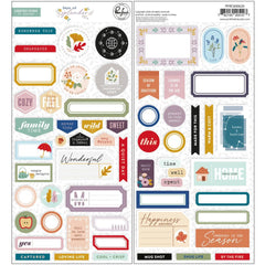PinkFresh - Cardstock Stickers - Days Of Splendour
