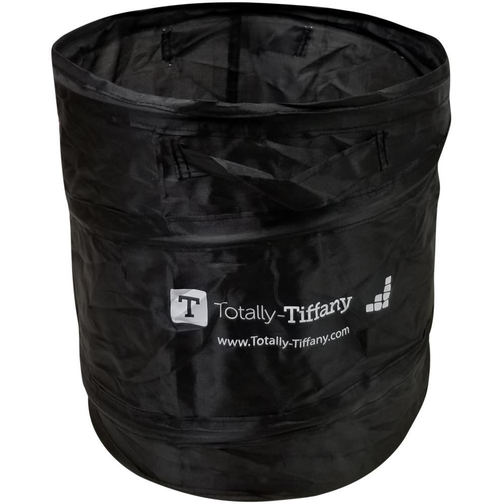 Totally-Tiffany Pop-Up Waste Paper Can - Black