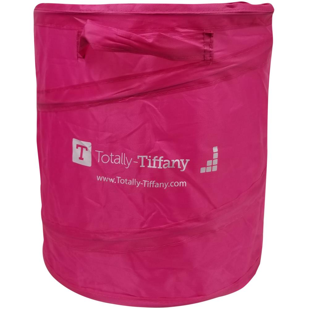 Totally-Tiffany Pop-Up Waste Paper Can - Pink