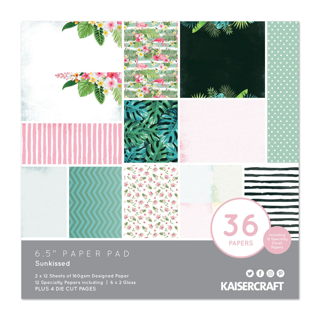 Kaisercraft - Sun kissed Collection 6.5in  Paper pad