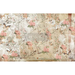 Re-Design Decoupage Decor Tissue Paper 19in x 30in 2 pack  - Botanical Imprint