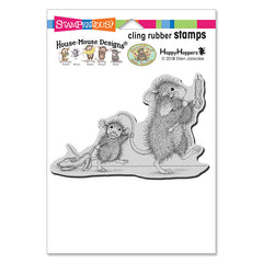 Stampendous House Mouse Cling Stamp - Bedtime Babies