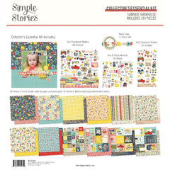 Simple Stories Collector's Essential Kit 12in X12in  - Summer Farmhouse