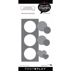 PhotoPlay Say It With Stamps Die Set - #9 Circle Windows