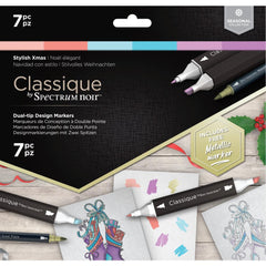 Spectrum Noir Classique Alcohol Markers 7 pack - Stylish Christmas