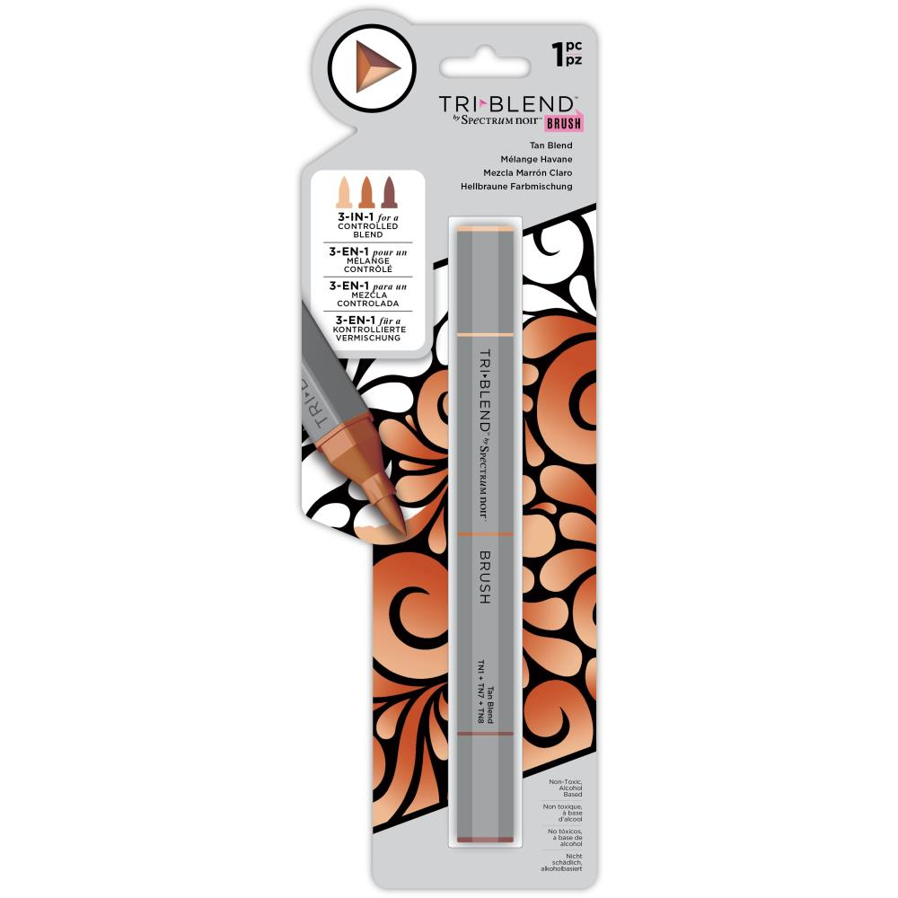 Spectrum Noir Triblend Brush Marker - Tan Blend