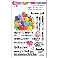Stampendous Perfectly Clear Stamps - Gumball Greetings
