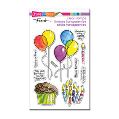 Stampendous Perfectly Clear Stamps - Balloons & More