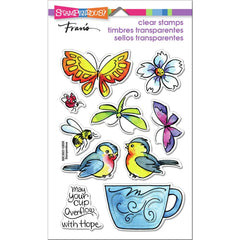 Stampendous Perfectly Clear Stamps - Winged Cup