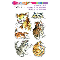Stampendous Perfectly Clear Stamps - Kitty Mischief