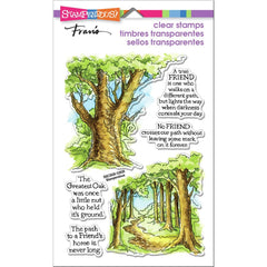 Stampendous Perfectly Clear Stamps - Forest Path