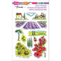 Stampendous Perfectly Clear Stamps - Field Of Flowers