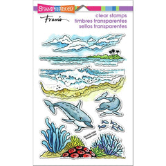 Stampendous Perfectly Clear Stamps - Dolphin Play