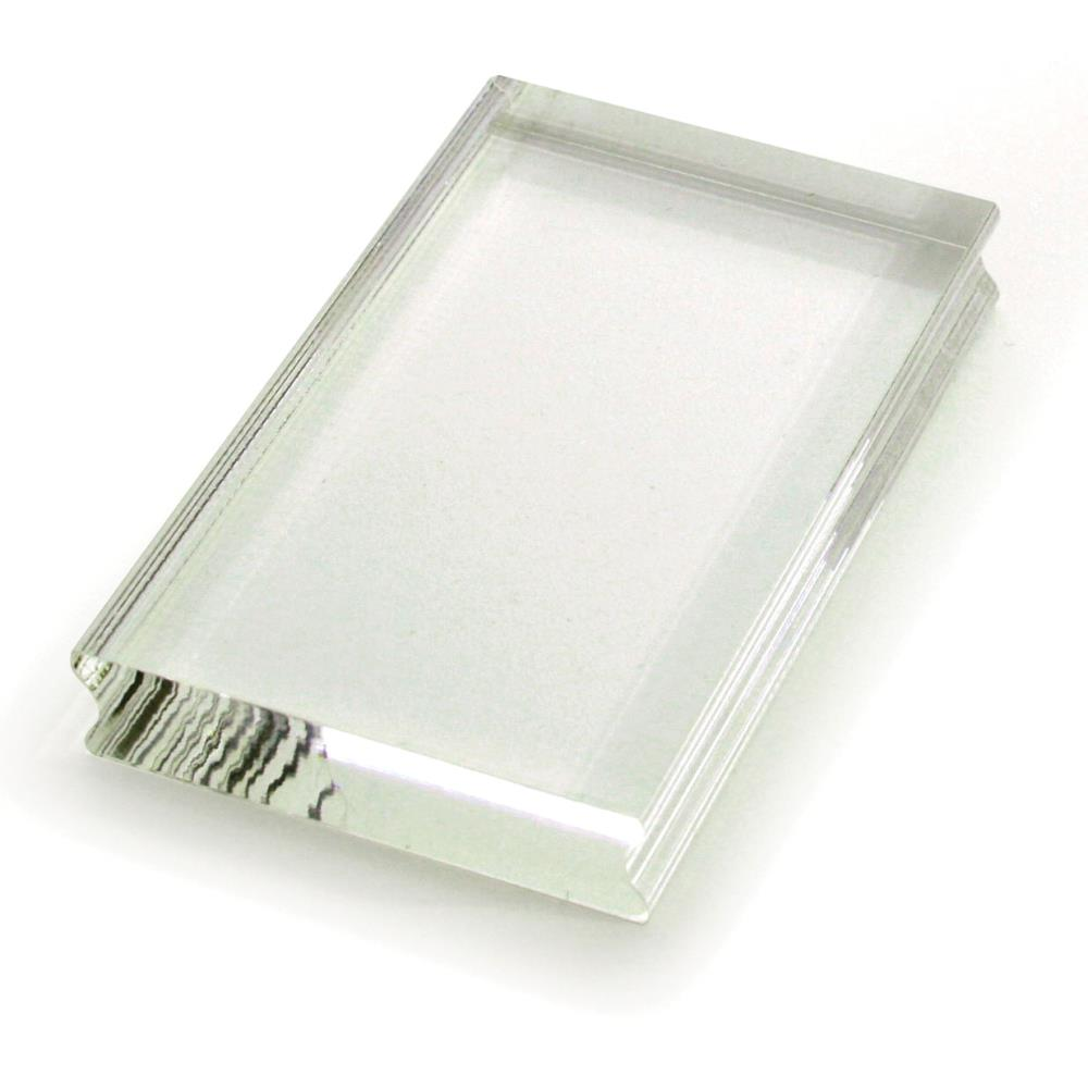 Stampendous Perfectly Clear Stamp Block - 2.25in x  3.5in