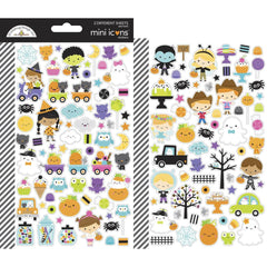 Dooblebug Mini Cardstock Stickers 2 pack - Ghost Town Icons