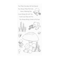 My Favorite Things Stacey Yacula Clear Stamp Set 4in x 8in - Always Bring A Smile