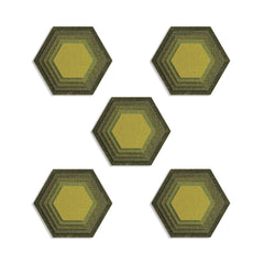 Sizzix - Thinlits Die Set 25 pack – Stacked Tiles, Hexagons by Tim Holtz