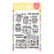 Waffle Flower Crafts Clear Stamps 4in X 6in - Winter Hamster