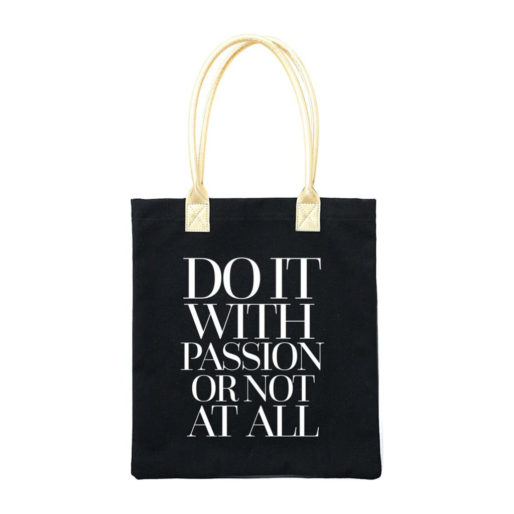 Teresa Collins - Totebag 13 inch x 14.5 inch - Do It With Passion