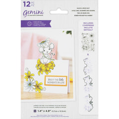 Crafter's Companion Gemini Stamps & Dies - Have A Mice Day