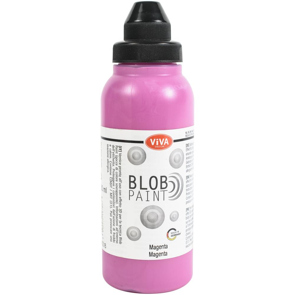 Viva Decor Blob Paint 280ml - Magenta