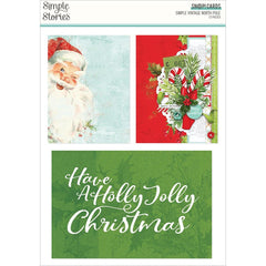 Simple Stories Sn@p! Card Pack 72 pack - Simple Vintage North Pole