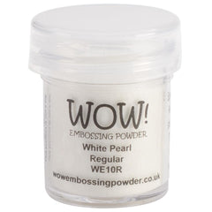 WOW! Embossing Powder 15ml - White Pearl