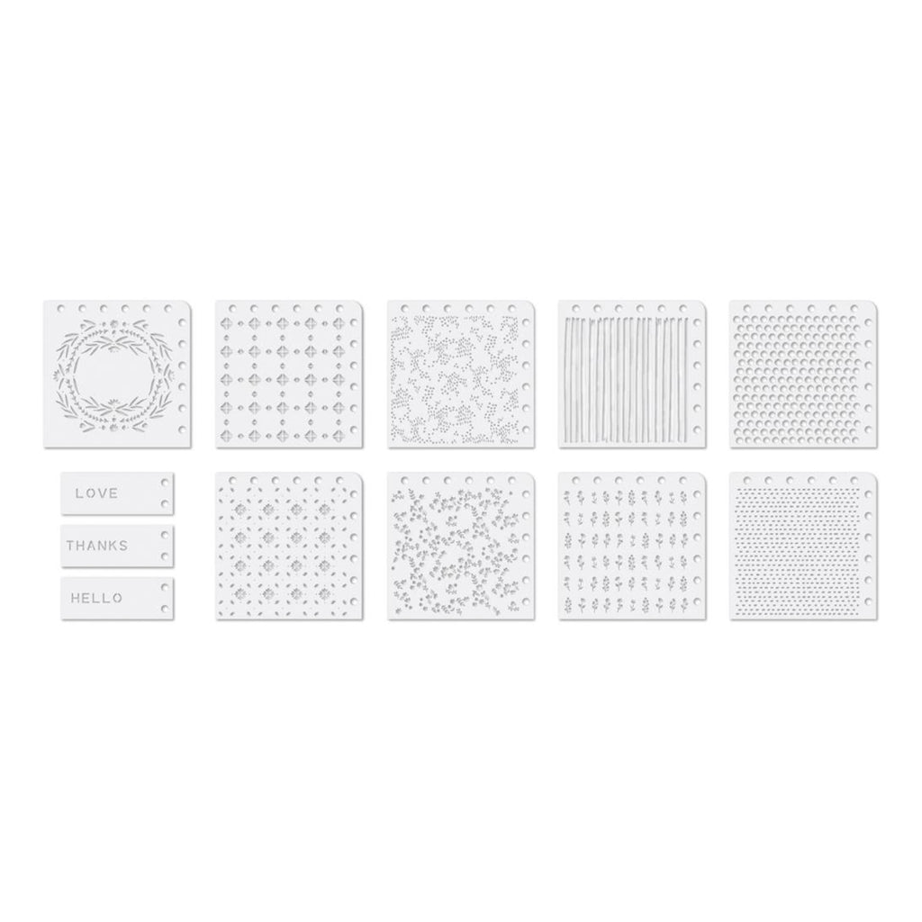 We R Memory Keepers Precision Stencils 12 pack