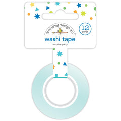 Doodlebug Washi Tape 15mmX12yd - Surprise Party, Party Time