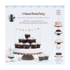 American Crafts - Sweet Tooth Fairy Cake Stand - Gold Tipped