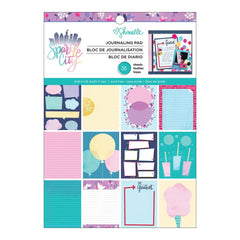 American Crafts - Shimelle Sparkle City Collection - 6 x 8 Paper Pad