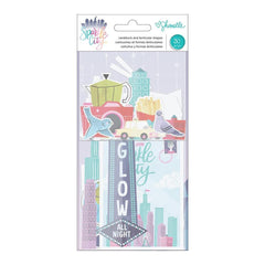 American Crafts - Shimelle Sparkle City Collection - Ephemera