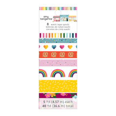 American Crafts - Amy Tan Slice Of Life Collection - Washi Tape Pack