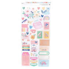 Dear Lizzy - She's Magic Stickers - Accents & Phrases