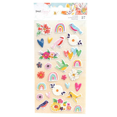 Dear Lizzy - She's Magic Puffy Stickers - Icons with Matte Finish