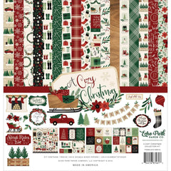 Echo Park - Collection Kit 12 inch X12 inch - A Cozy Christmas