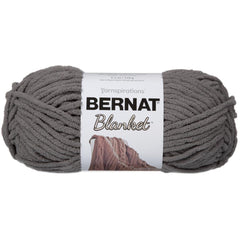 Bernat Blanket Yarn - Dark Grey - 150g