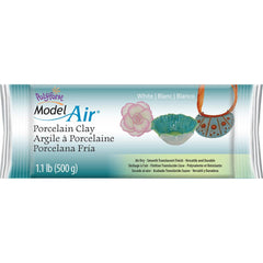 Model Air Porcelain Clay 1.1lb White