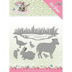 Find It Trading Amy Design Spring Is Here Die - Spring Animals