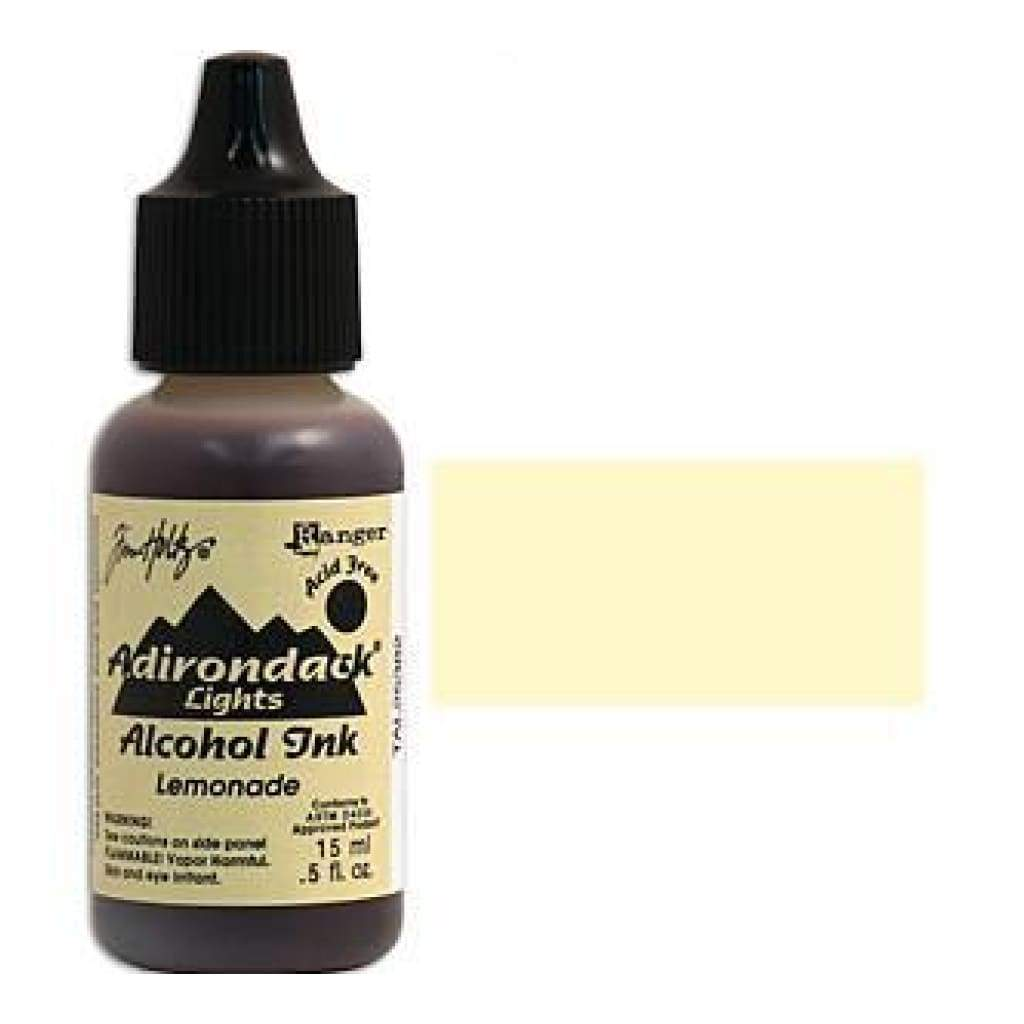 Adirondack Alcohol Ink .5 Ounce - Lights - Lemonade