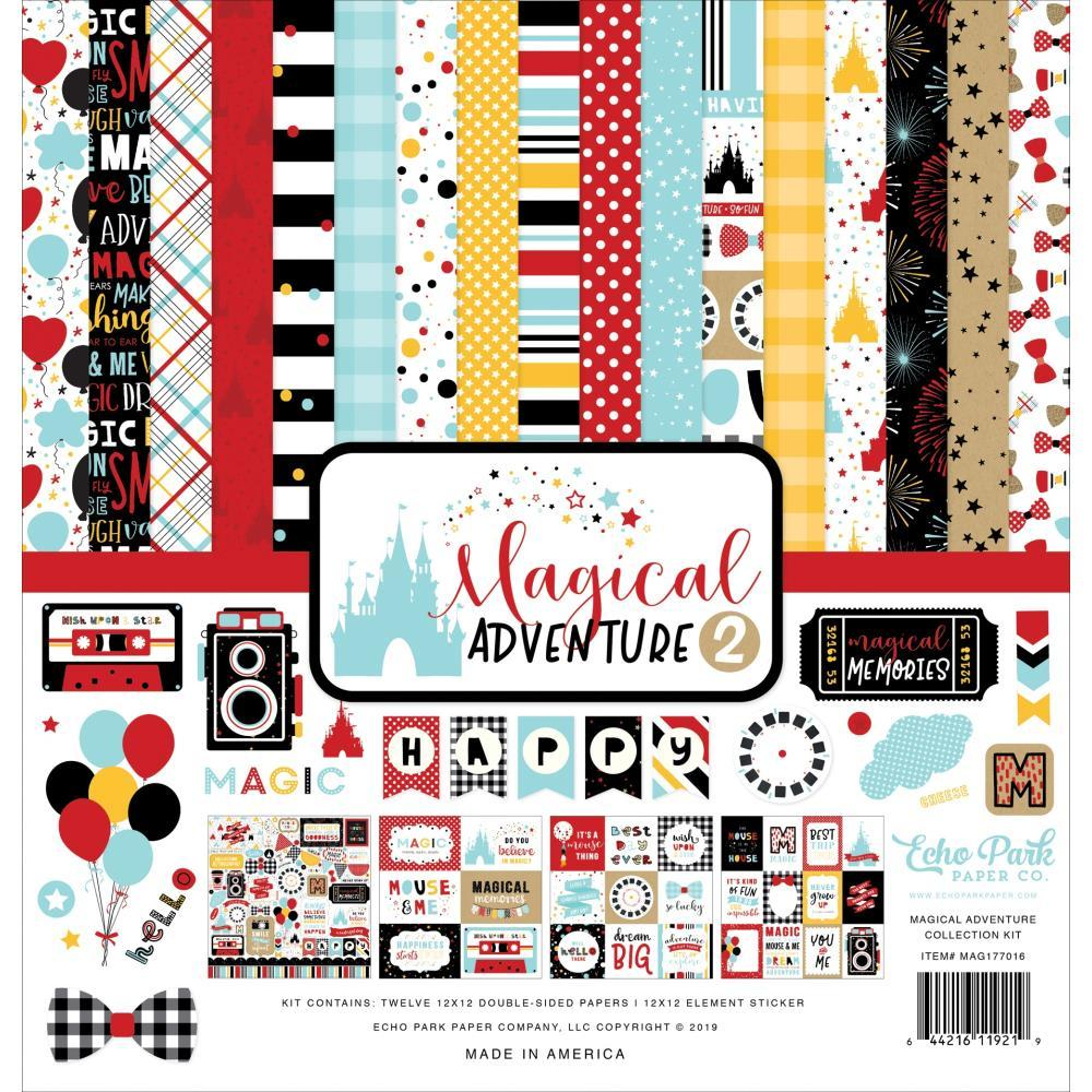 Echo Park Collection Kit 12 inch X12 inch - Magical Adventure 2