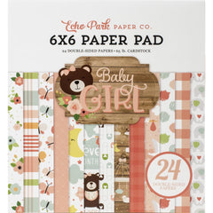 Echo Park Double-Sided Paper Pad 6in x 6in 24 pack - Baby Girl