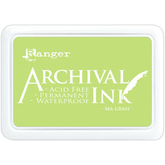 Ranger Archival Ink Pad #0 - Sea Grass